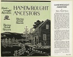 Handwrought Ancestors The Story Of Early American Shops And Those Who Worked Therein